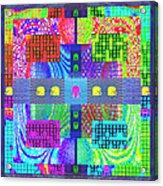 Cognitive Quilt Acrylic Print