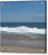 Coin Beach Md Ocean Wave Acrylic Print