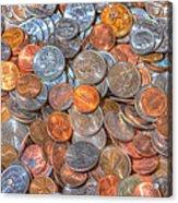Coins Acrylic Print