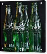 Coke Bottles From The 1950s Acrylic Print