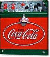 Coke Cooler Acrylic Print