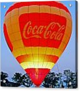 Coke Float Acrylic Print