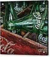 Coke Return For Deposit Acrylic Print