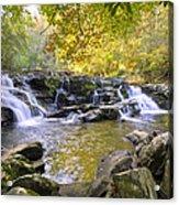 Coker Creek Falls Acrylic Print
