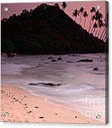 Cola Beach Sunset Acrylic Print