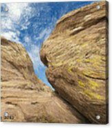 Colby's Cliff Acrylic Print