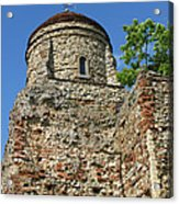 Colchester Castle Acrylic Print