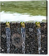 Cold And Clear Water - Featured 3 Acrylic Print by Alexander Senin