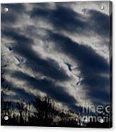 Cold Cloudscape Acrylic Print