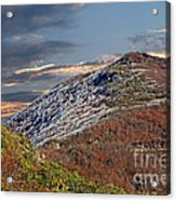 Cold Day On The Blue Ridge Acrylic Print