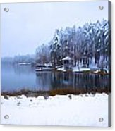 Cold Feet - A Winter Landscape Acrylic Print