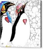 Cold Feet Warm Hearts Acrylic Print
