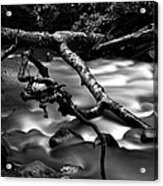 Cold Mountain Stream Hdr Work #1 Acrylic Print