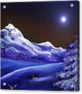Cold Night Acrylic Print