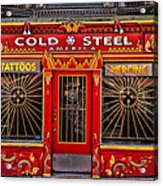 Cold Steel Acrylic Print