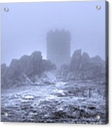 Cold Tower Of Mist Acrylic Print