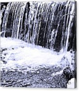 Cold Winter Falls Acrylic Print