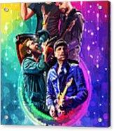 Coldplay Mylo Xyloto Acrylic Print