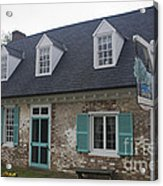 Cole Diggs House Yorktown Acrylic Print