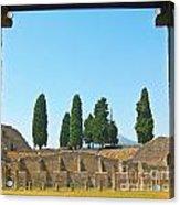 Coliseum At Pompeii Acrylic Print