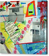 Collage 444 Acrylic Print by Bruce Stanfield
