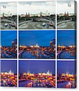 Collage - Kremlin View - Featured 3 Acrylic Print