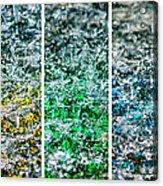 Collage Liquid Rainbow 1 - Featured 3 Acrylic Print