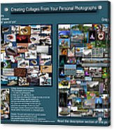 Collage Photography Services Acrylic Print