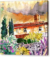 Colle D Val D Elsa In Italy 03 Acrylic Print