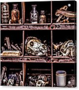 Collection At Techatticup Gold Mine-alt Process Acrylic Print