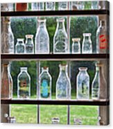 Collector - Bottles - Milk Bottles  Acrylic Print