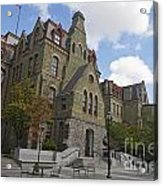 College Hall University Of Pennsylvania Acrylic Print