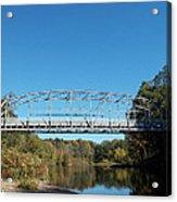 Collinsville Steel Bridge 1 Acrylic Print