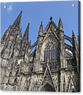 Cologne Cathedral South Side Rooflines Acrylic Print
