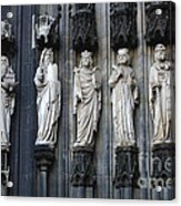 Cologne Cathedral Statuary Acrylic Print