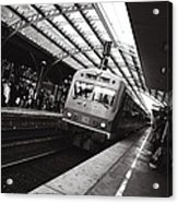 Cologne Trainstation Acrylic Print by Jimmy Karlsson