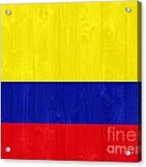 Colombia Flag Acrylic Print
