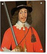 Colonel John Hutchinson, C.1643 Acrylic Print