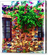 Colonia Del Sacramento Window Acrylic Print