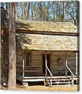 Colonial Cabin Acrylic Print