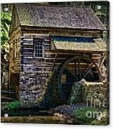 Colonial Grist Mill Acrylic Print