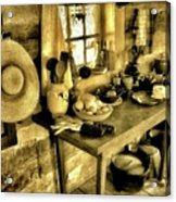 Colonial Kitchen Acrylic Print