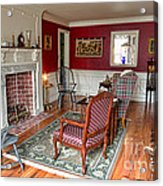 Colonial Parlor Acrylic Print by Olivier Le Queinec
