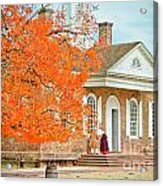 Colonial Williamsburg Courthouse Acrylic Print