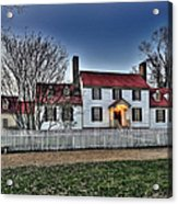 Colonial Williamsburg George Tucker House Acrylic Print