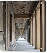 Colonnade Neues Museum Berlin Acrylic Print