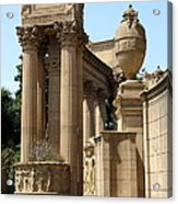 Colonnades Palaces Of Fine Arts Acrylic Print