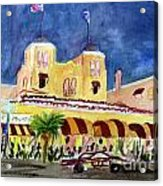 Colony Hotel In Delray Beach Acrylic Print