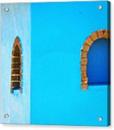 Color About Town - Blue Acrylic Print