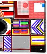 Color Abstract-9 Acrylic Print